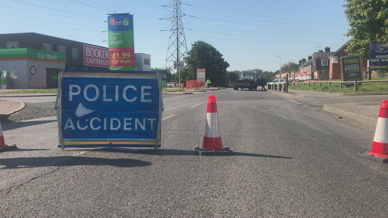 Man seriously injured in Broad Oak Road, Canterbury crash